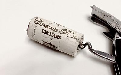 Compass Rose Syrah cork