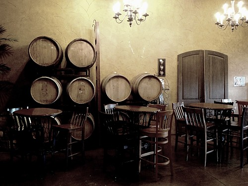 Landon Winery barrels