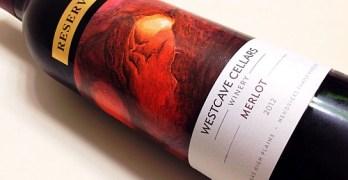 Westcave Cellars Reserve Merlot - bottle