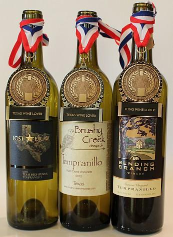 Top 3 wines