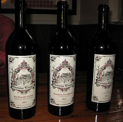Pontotoc Vineyard wine