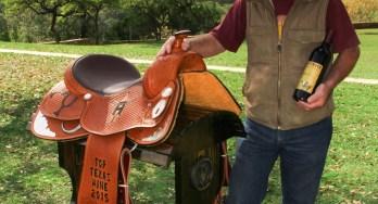 Driftwood Estates Gary Elliott with saddle