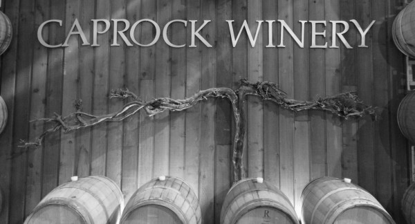 CapRock Winery sign