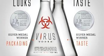Virus Vodka Silver
