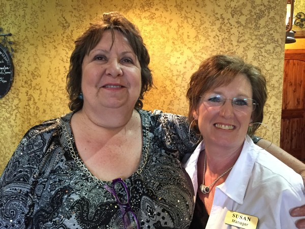 Cindy Mittelstedt and manager Susan