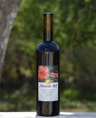 Messina Hof Cabernet Franc bottle