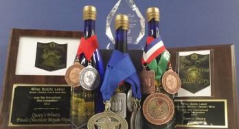 Queen's Winery wine awards