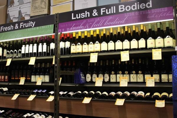 Total Wine wines by taste