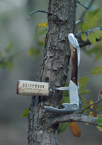 Driftwood Estate Winery Longhorn Red 2012 cork