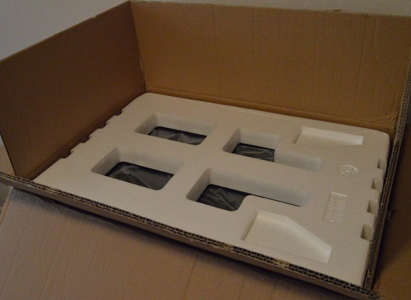NewAir AW-211ED foam in box
