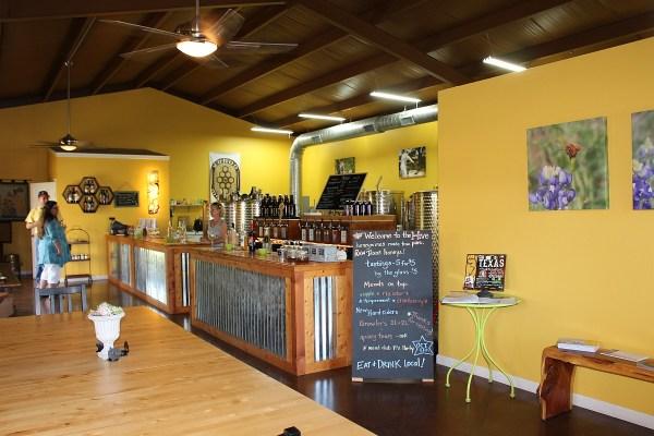 Rohan Meadery tasting room