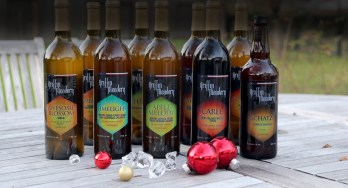 Griffin Meadery bottles