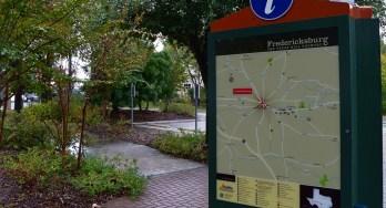 Fredericksburg sign