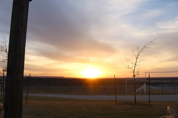 Sunset at Blue Ostrich