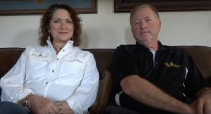 Julie & Patrick Whitehead of Blue Ostrich Winery