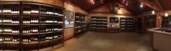 Wedding Oak Winery at Wildseed Farms inside