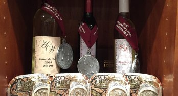 Houston Winery medals