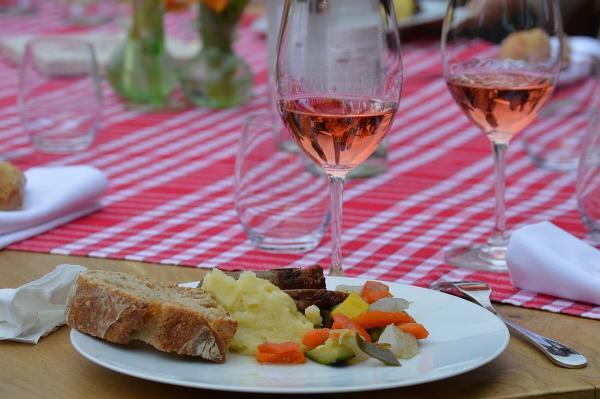 Lunch at Château Du Tertre