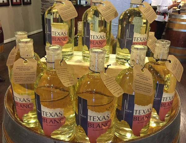 Nice Texas Blanc bottles
