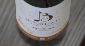 Bingham Dirt Farmer bottom bottle