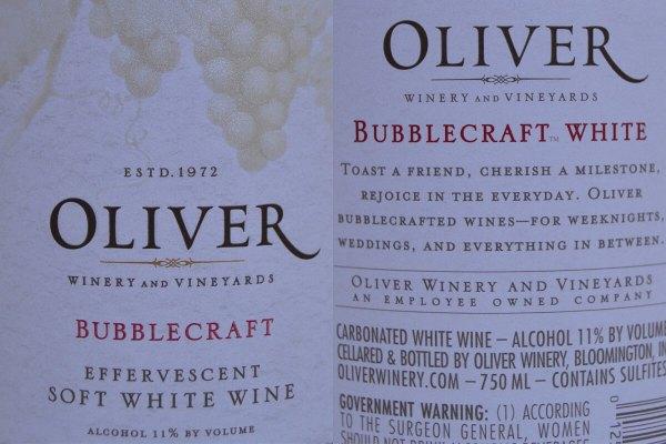 Oliver Bubblecraft labels