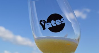Yates featured glass