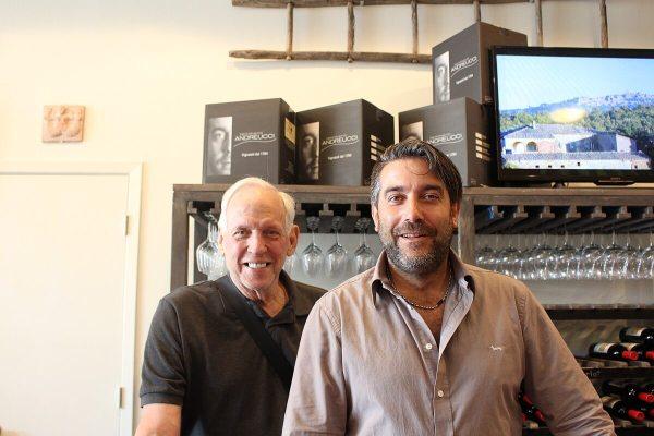 Bill Sutherland and Flavio Andreucci