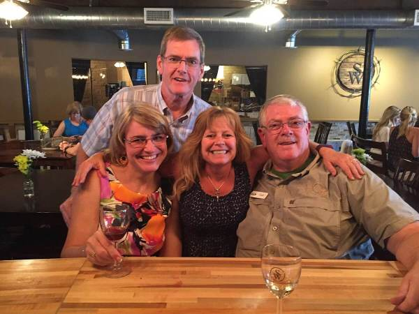 Laurie & Shelly Ware, Colleen, Carl Hudson