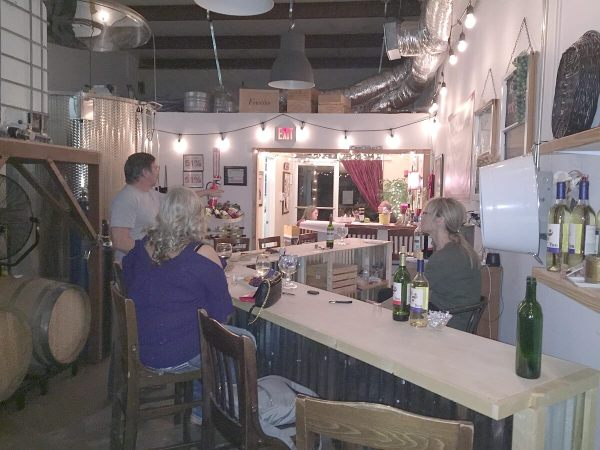 Larue Vineyards tasting room
