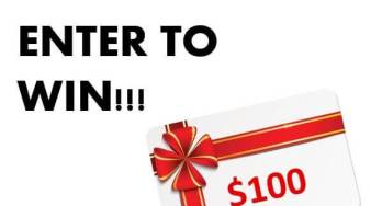$100 dollar giveaway - featured