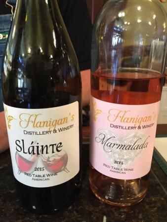 Flanigan's wine