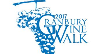 2017 Granbury Wine Walk logo