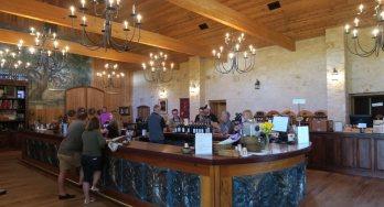 Becker Vineyards tasting room