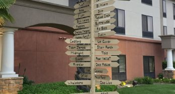 Paso Robles sign post