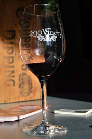 290 Vinery - New wine in glass