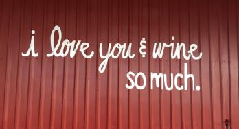 Spirit of Texas Winery outside wall