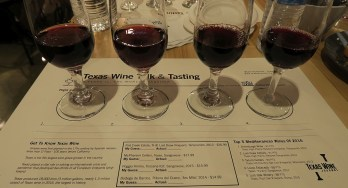 Texas vs the World red wines