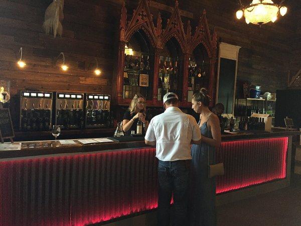 Braman Winery tasting bar