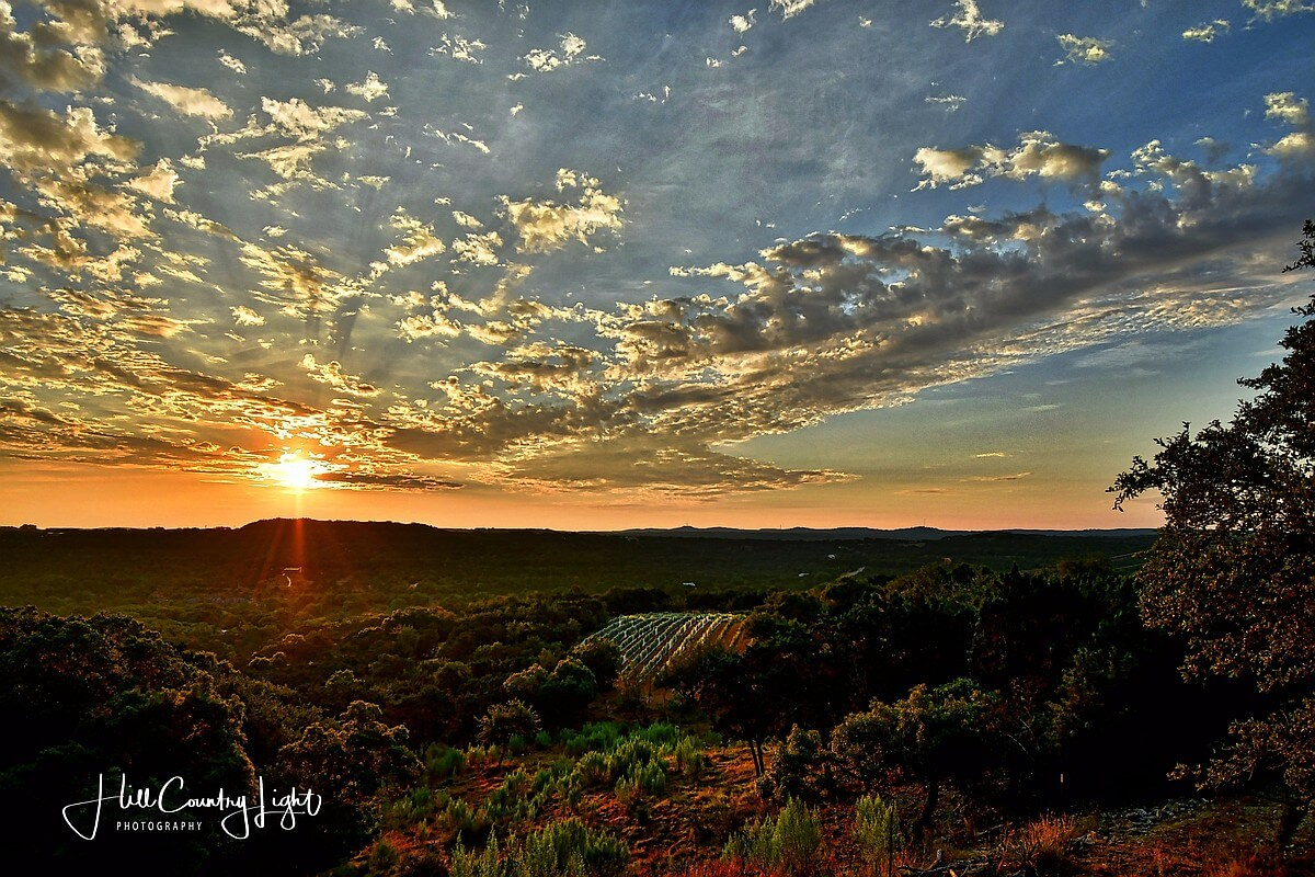 Winter Sunrise Texas Hill Country