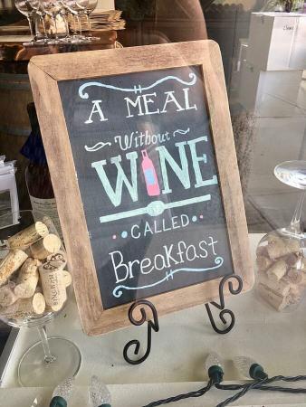 GrapeFest Wine sign