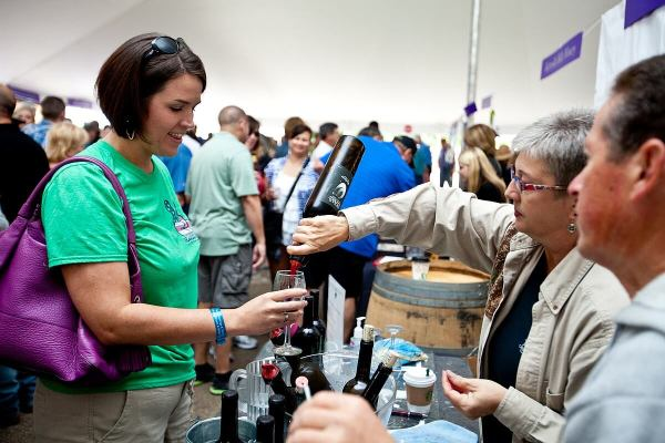 Gruene Music & Wine Fest Texas wine ©jimflynn