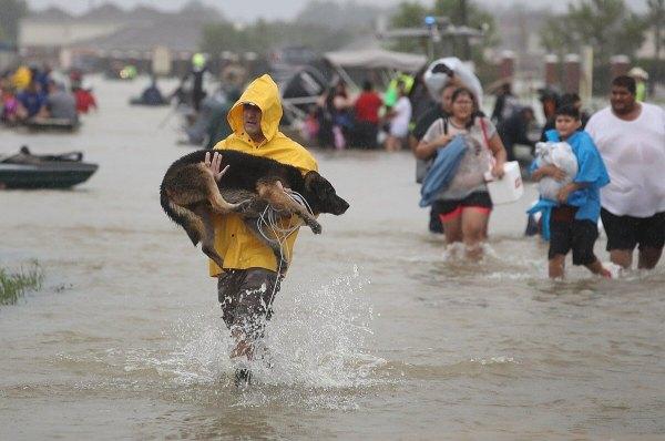 Flooding - Photo credit Lowell Sun