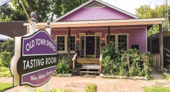 Old Town Spring Tasting Room outside