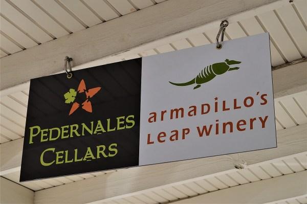 Armadillo's Leap sign