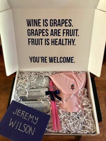 BABE rosé sample kit