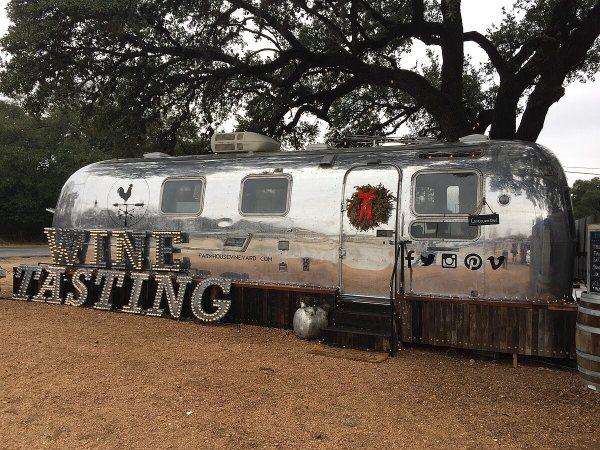 Farmhouse Vineyards tasting trailer