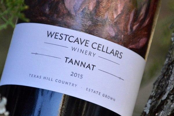 Westcave Cellars 2015 label
