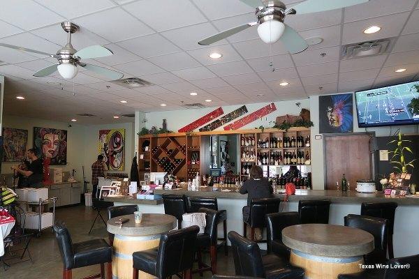Houston Winery tasting bar