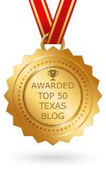 Awarded Top 50 Texas Blog