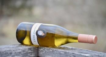 Pheasant Ridge Chenin bottle on side